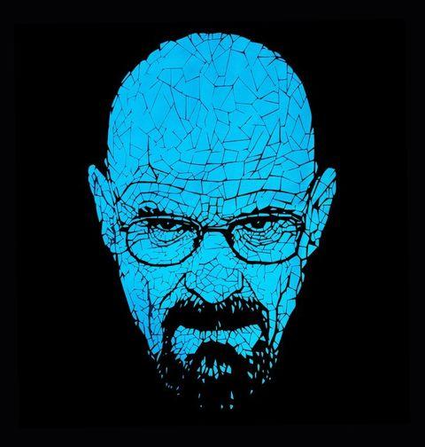 Obrázek produktu Pánské tričko Breaking Bad Modrý Heisenberg
