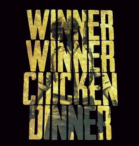 Obrázek produktu Pánské tričko PUBG Winner Winner Chicken Dinner