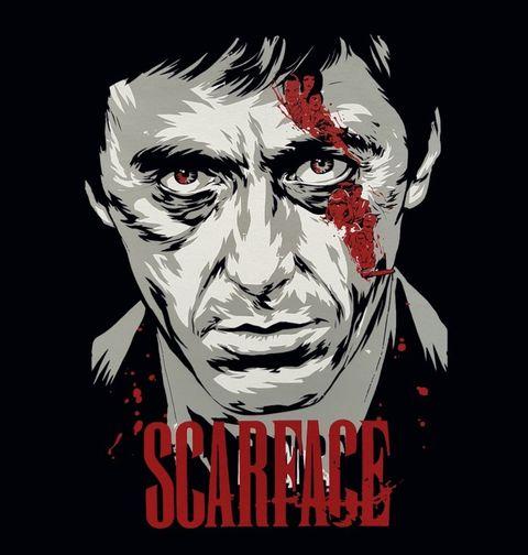 Obrázek produktu Pánské tričko Scarface Životní Příběh