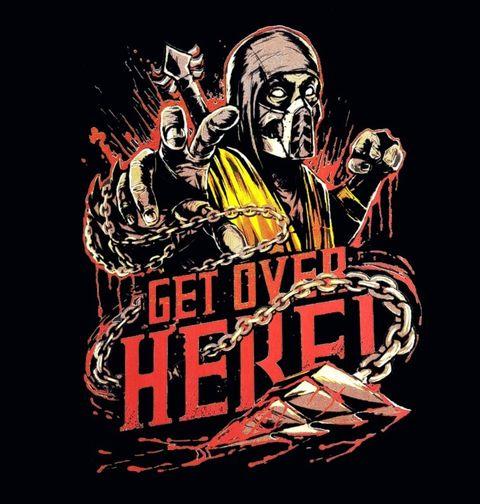Obrázek produktu Pánské tričko Scorpion Mortal Kombat Get Over Here