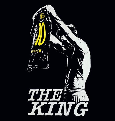 Obrázek produktu Pánské tričko Messi The King