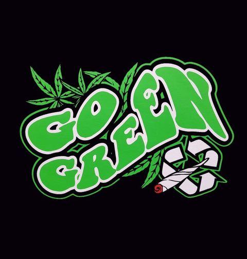 Obrázek produktu Dámské tričko Go Green