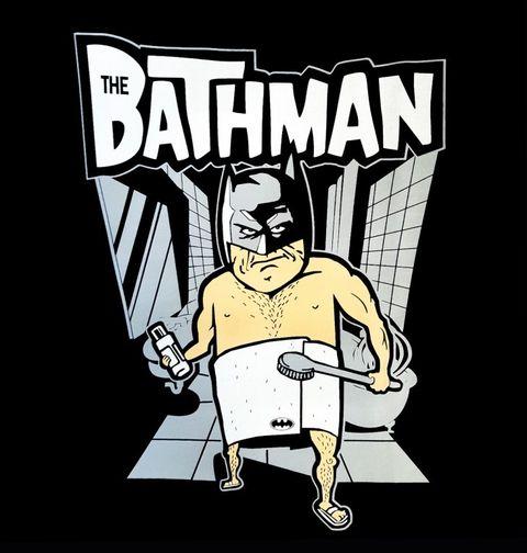 """Obrázek produktu Pánské tričko Koupelnový Batman """"Bathman"""""""