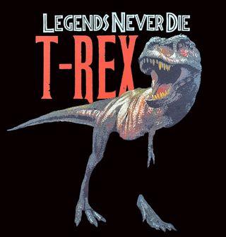 Obrázek 2 produktu Dámské tričko T-Rex Legends Never Die