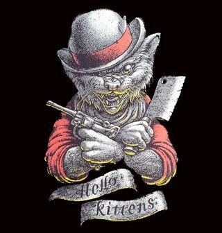 Obrázek 2 produktu Pánské tričko Kocour Butcher Hello Kittens