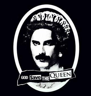 Obrázek 2 produktu Dámské tričko God Save the Queen Freddie Mercury