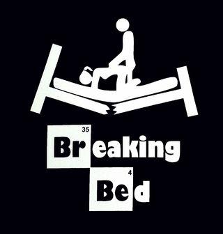 Obrázek 2 produktu Dámské tričko Breaking Bed