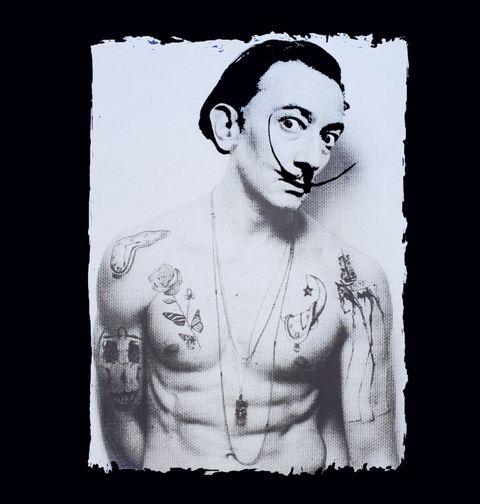 Obrázek produktu Dámské tričko Potetovaný Salvador Dalí
