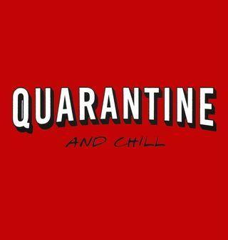Obrázek 2 produktu Pánské tričko Quarantine and Chill