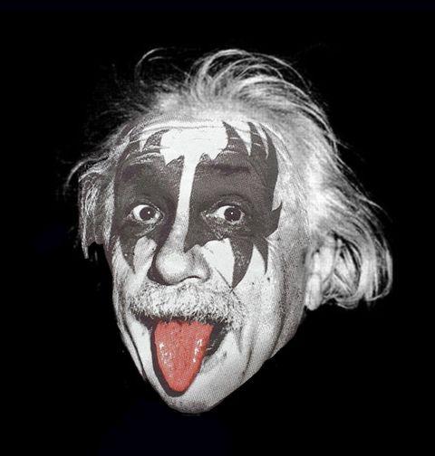 Obrázek produktu Dámské tričko Albert Einstein Kiss