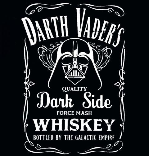 Obrázek produktu Pánské tričko Star Wars Darth Vaders Whiskey