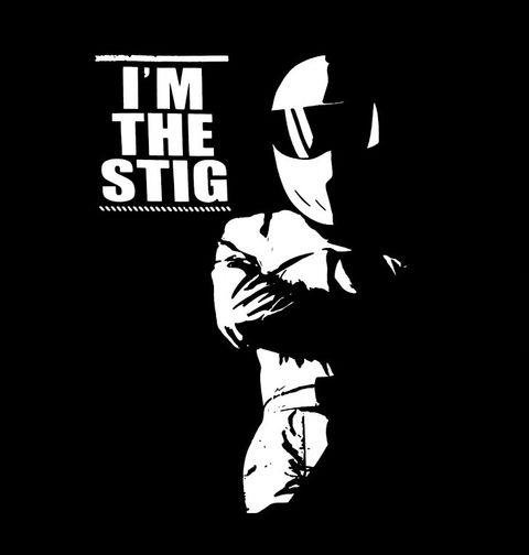 """Obrázek produktu Pánské tričko Top Gear Já jsem Stig """"I'm The Stig"""""""