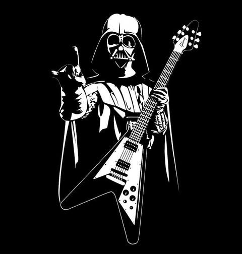 Obrázek produktu Pánské tričko Star Wars Heavy metal Darth Vader
