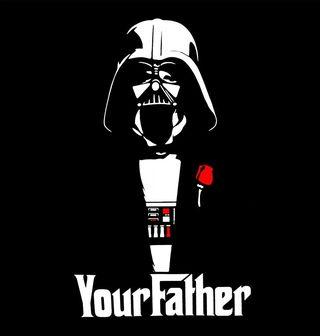 "Obrázek 2 produktu Pánské tričko ""Yourfather"" Star Wars Godfather"