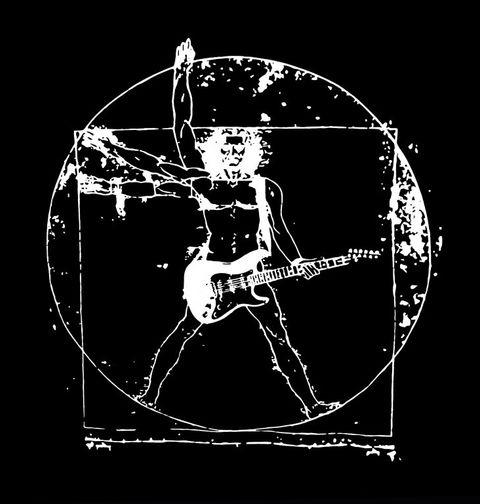 Obrázek produktu Dětské tričko Vitruviánský kytarista