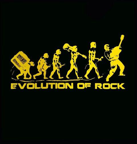 Obrázek produktu Dětské tričko Evoluce Rock 'n' Rollu