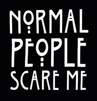 """Obrázek 2 produktu Dětské tričko Normální lidé mě děsí """"Normal People Scare Me"""""""