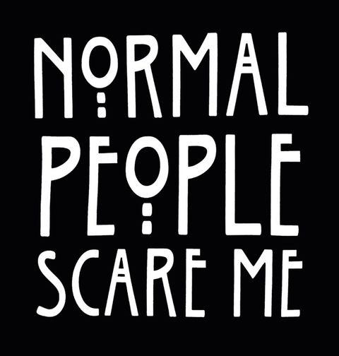"""Obrázek produktu Dámské tričko Normální lidé mě děsí """"Normal People Scare Me"""""""