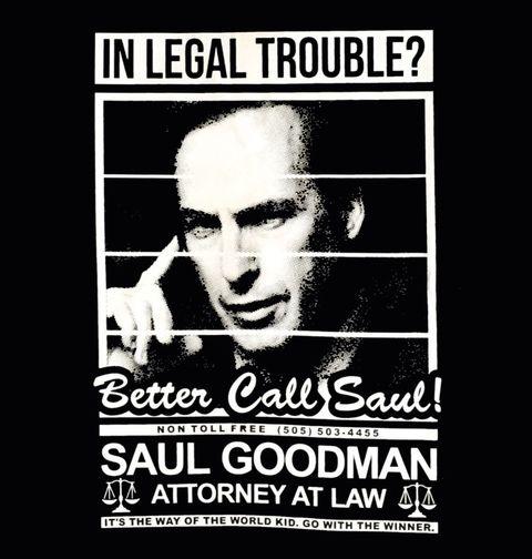 Obrázek produktu Pánské tričko Saul Goodman Better Call Saul
