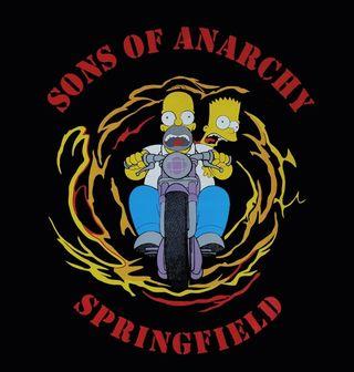 Obrázek 2 produktu Dámské tričko  Simpsonovi Sons of Anarchy The Simpsons