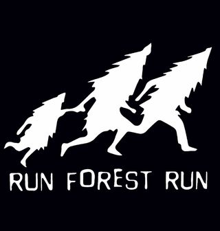 """Obrázek 2 produktu Pánské tílko Run Forrest Run """"Běžící les"""""""