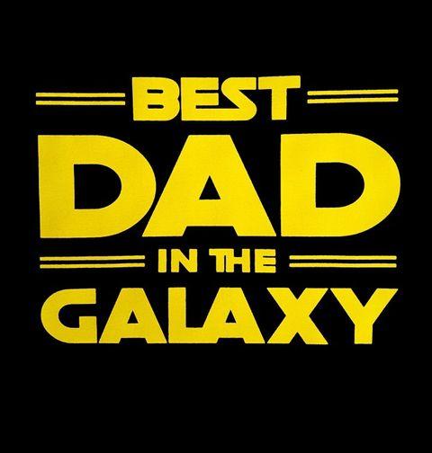 Obrázek produktu Pánské tričko Nejlepší Táta v Galaxii Best Dad in the Galaxy