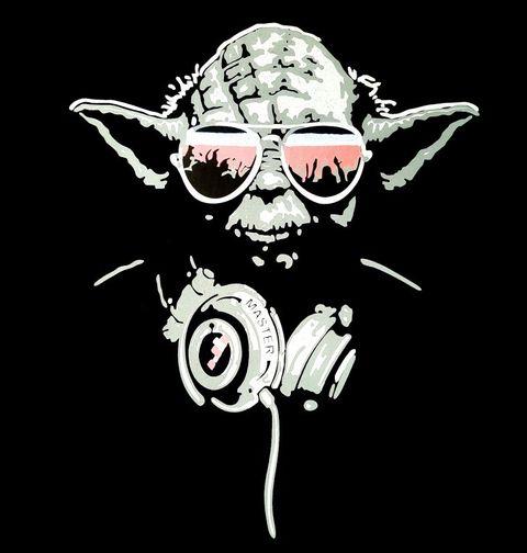 Obrázek produktu Dámské tričko Mistr Dj Yoda Star Wars