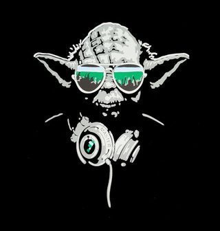 Obrázek 2 produktu Pánské tričko  Mistr Dj Yoda Star Wars