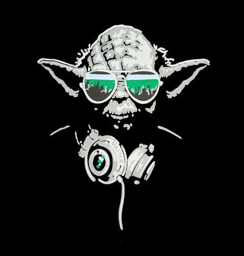 Obrázek produktu Dětské tričko  Mistr Dj Yoda Star Wars