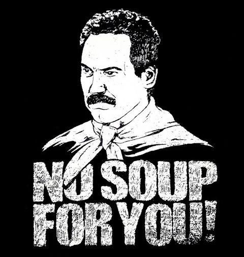 Obrázek produktu Dámské tričko Show Jerryho Seinfelda No soup for you!