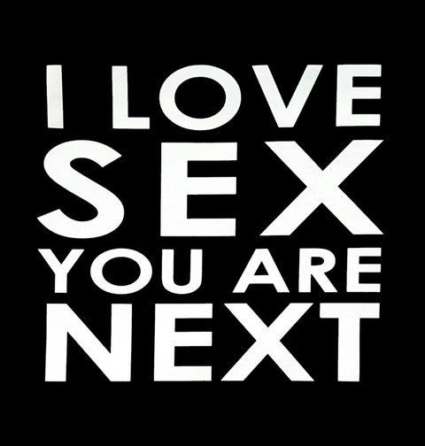 Obrázek produktu Dámské tričko I love sex you are next