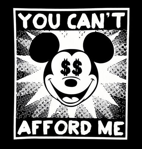 Obrázek produktu Pánské tričko Rozmazlený Mickey Mouse