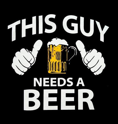 Obrázek produktu Pánské tričko Potřebuju pivo!