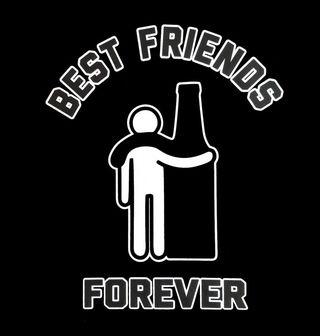 Obrázek 2 produktu Pánské tričko Já a pivo! Best Friends Forever