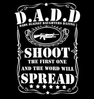 Obrázek 2 produktu Pánské tričko D.A.D.D Otcové proti randění dcer