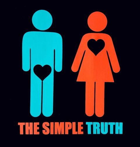 Obrázek produktu Dámské tričko Jednoduchá pravda