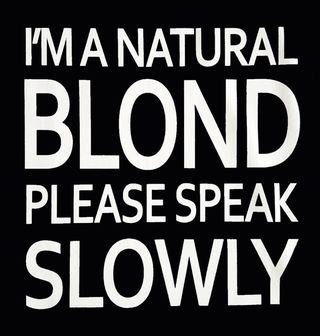 Obrázek 2 produktu Dámské tričko Natural Blond Speak Slowly