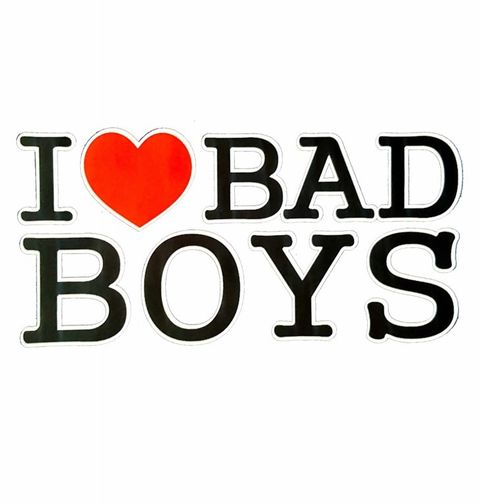 Obrázek produktu Dámské tričko I <3 Bad Boys