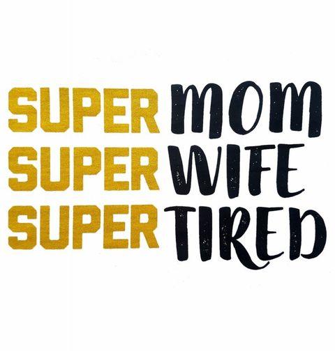 Obrázek produktu Dámské tričko Super Mom Super Wife Super Tired