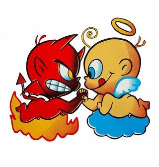 Obrázek 2 produktu Dětské tričko Anděl vs Ďábel