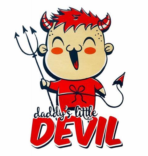 Obrázek produktu Dětské tričko Daddy's Little Devil