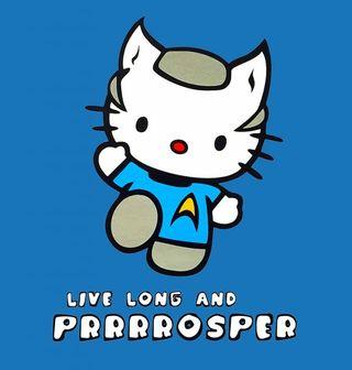 Obrázek 2 produktu Dětské tričko Hello Star Trek Kitty