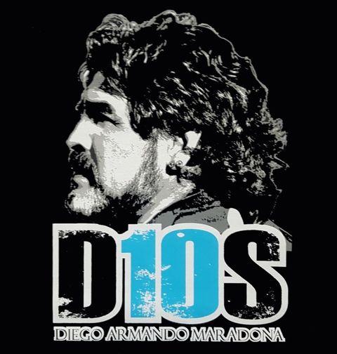Obrázek produktu Pánské tričko Maradona D10S