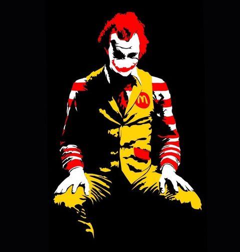 Obrázek produktu Pánské tričko McDonald Joker