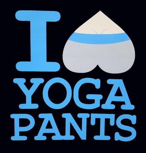 Obrázek produktu Dámské tričko I Love Yoga Pants