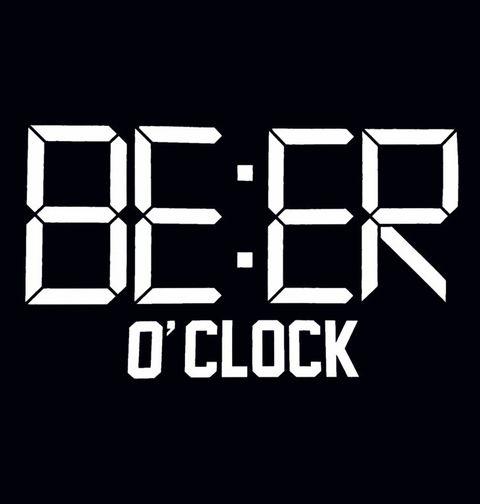 Obrázek produktu Pánské tričko Čas na Pivo! Beer O'clock!