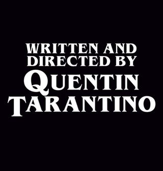 Obrázek 2 produktu Dětské tričko Written and Directed by Quentin Tarantino