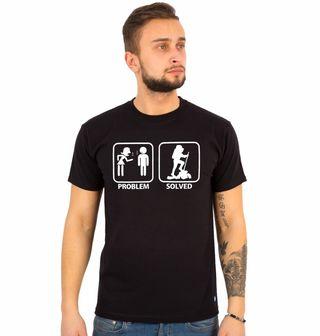 Obrázek 1 produktu Pánské tričko Problémy ve vztahu? Problem Solved - Hiking (Pěší tůry)