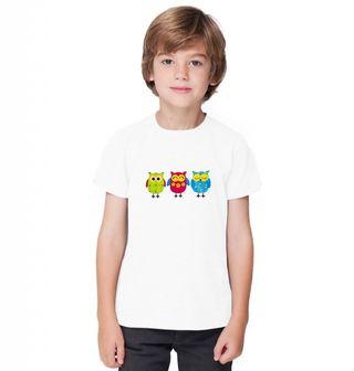 Obrázek 1 produktu Dětské tričko Tři sovy