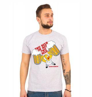 """Obrázek 1 produktu Pánské tričko Simpsonovi """"Dvě piva či žádný piva"""" The Simpsons"""
